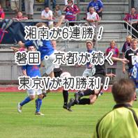 J2 第6節の試合結果(2014年)