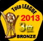 TotoLeague 2013 3位